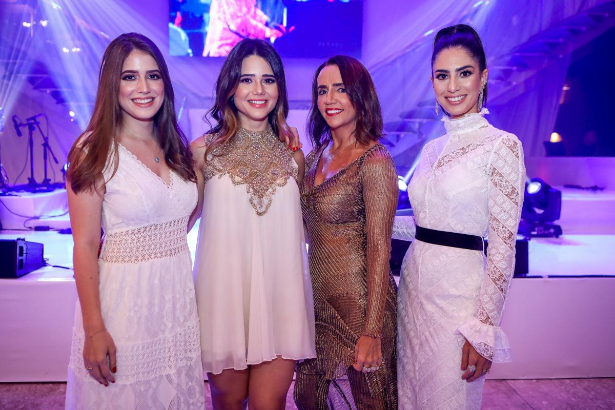 Ligia Diogenes, Carol Freitas, Carla Baide E Nicole Pinheiro