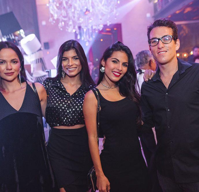 Lohaine Cacau, Helena Lima, Monalise Prata E Pedro Branco