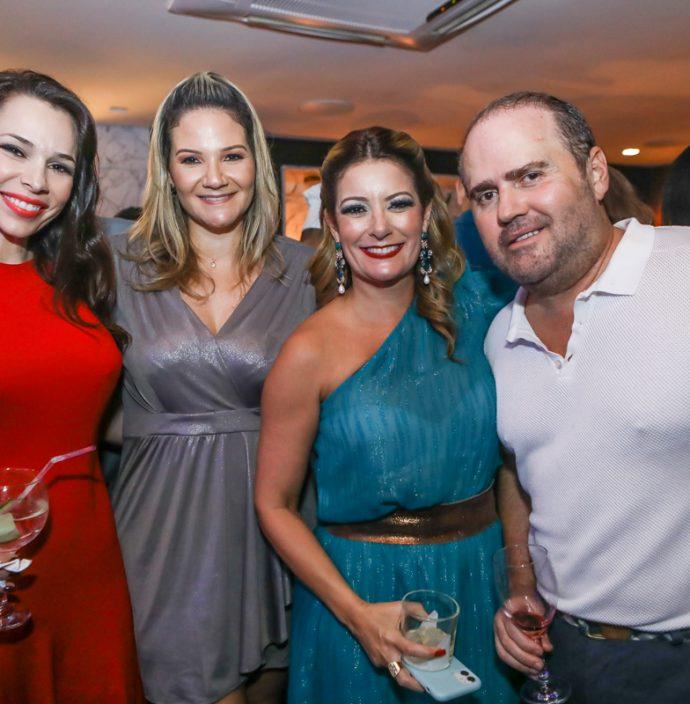Lorena Gomes, Raquel Fortes, Tatiana Luna E Roberto Pamplona