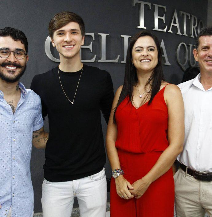 Luciano Nogueira, Gabriel Rodrigues, Carolina Abreu E Carlane Campos