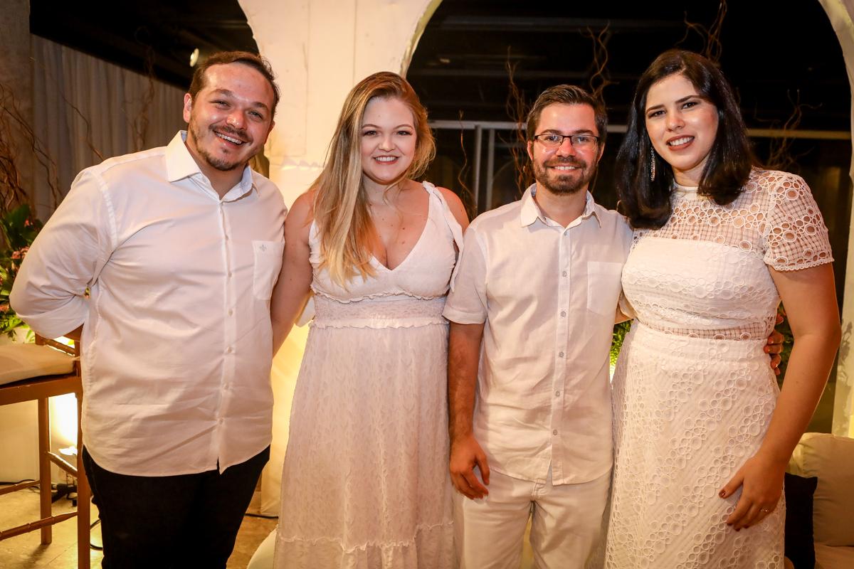 Luiz Cavalcante, Isadora Dantas, Victor Fernandes E Larissa Fernandes