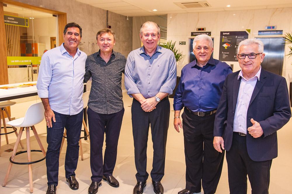 Luiz Gastao Bittencourt, Mauricio Filizola, Ricardo Cavalcante, Deusmar Queiros E Obiranilson Alves