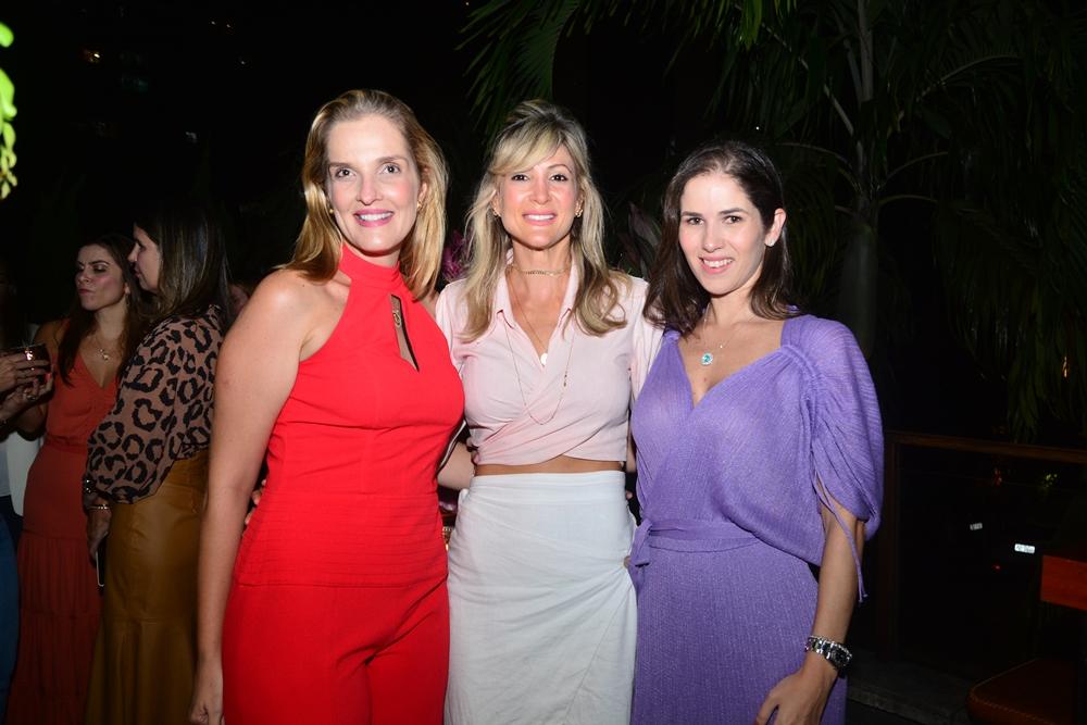 Malu Miranda, Bianca Bonorandi Franco E Caroline Borges