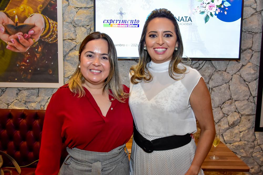 Marcela Pinheiro E Janaina Ximenes