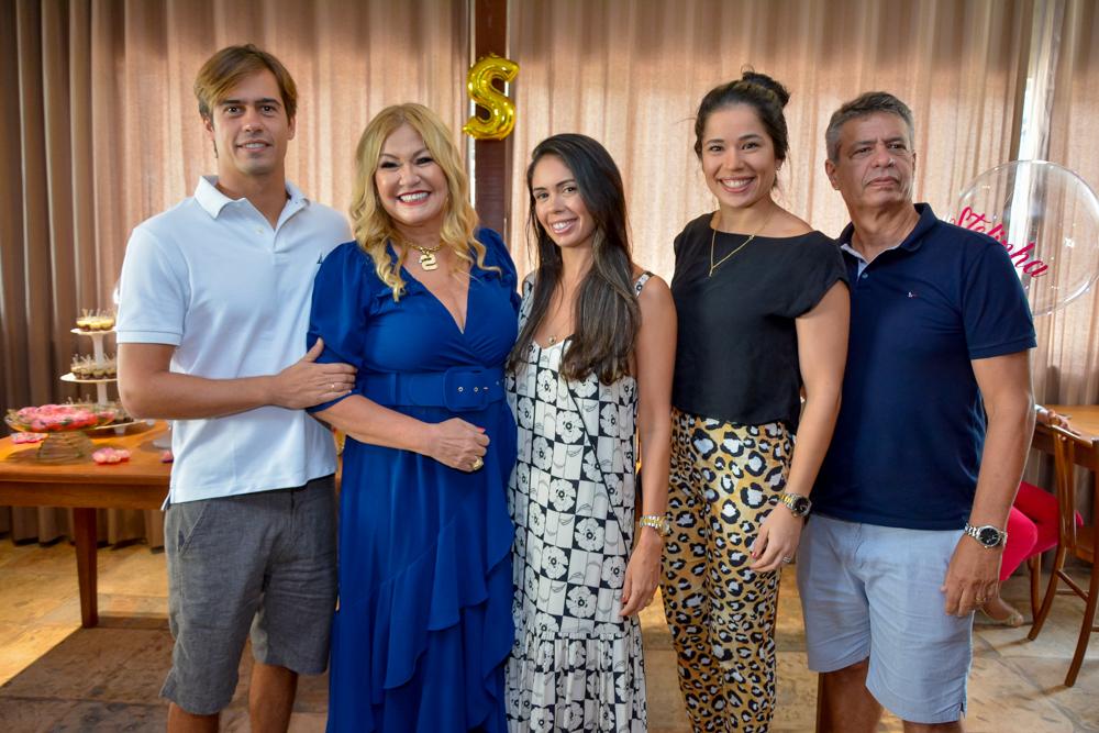 Marco, Stela, Marcela Iasmin E Marco Salles