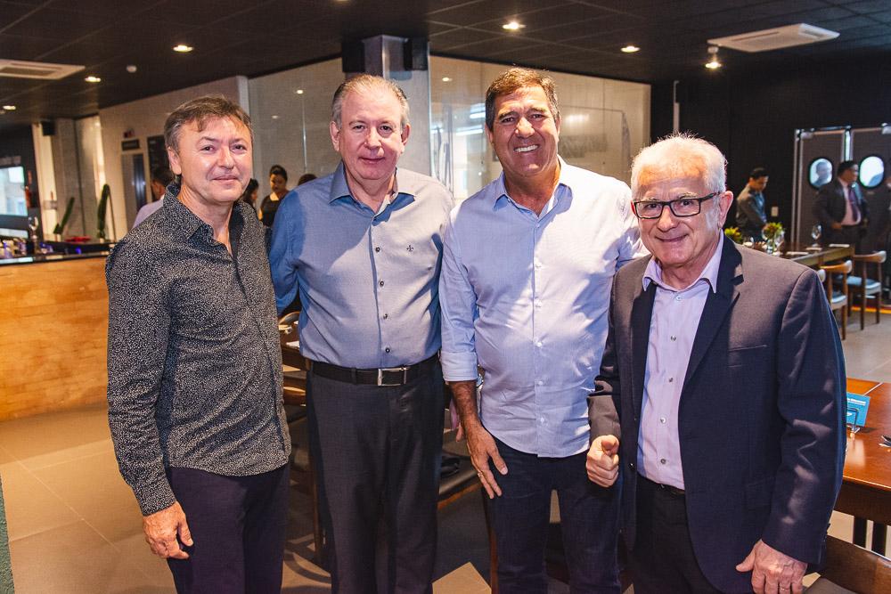 Mauricio Filizola, Ricardo Cavalcante, Luiz Gastao Bittencourt E Obiranilson Alves