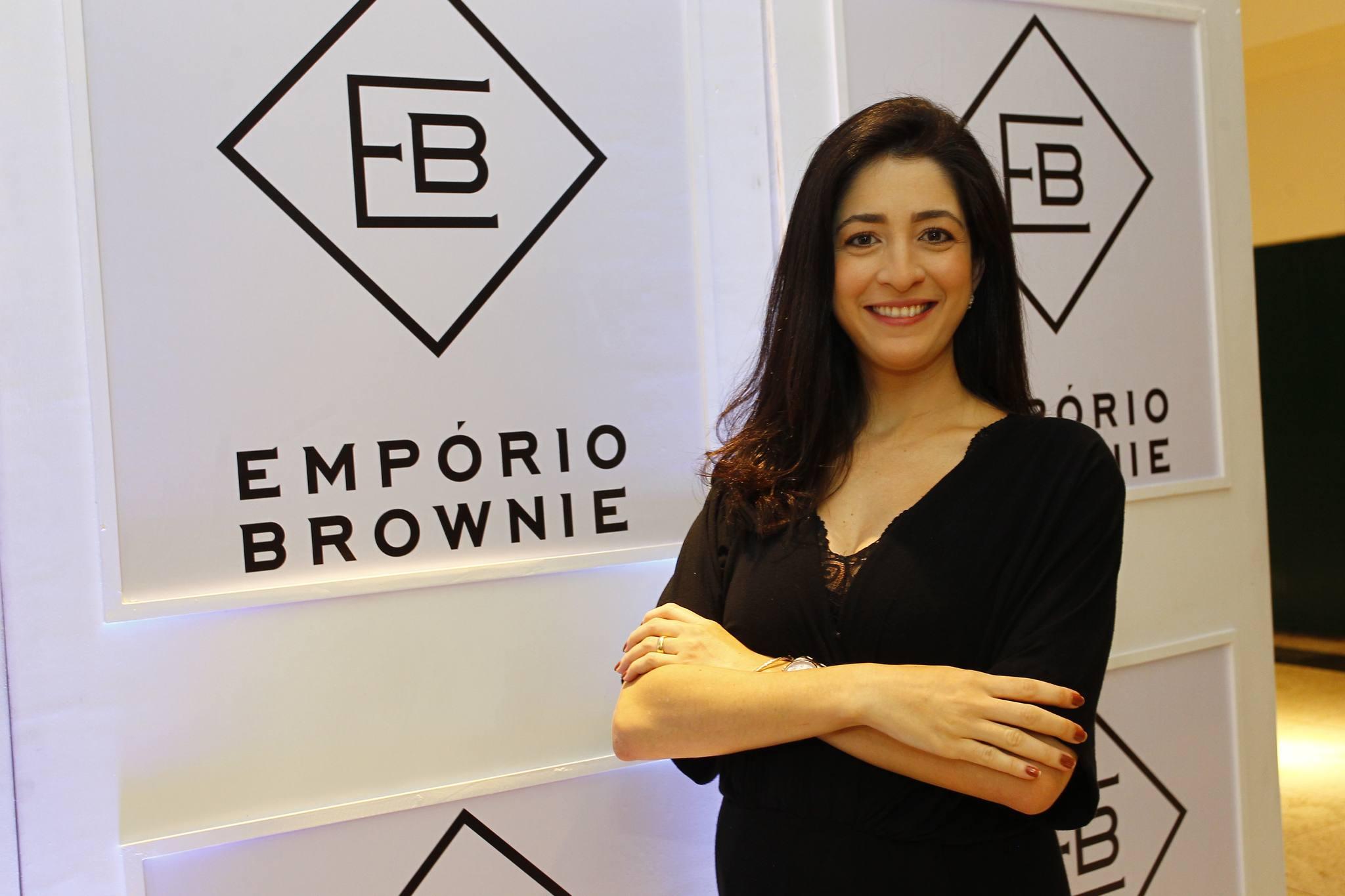 Mila Ary apresenta a nova marca da Empório Brownie em evento no Iguatemi Fortaleza
