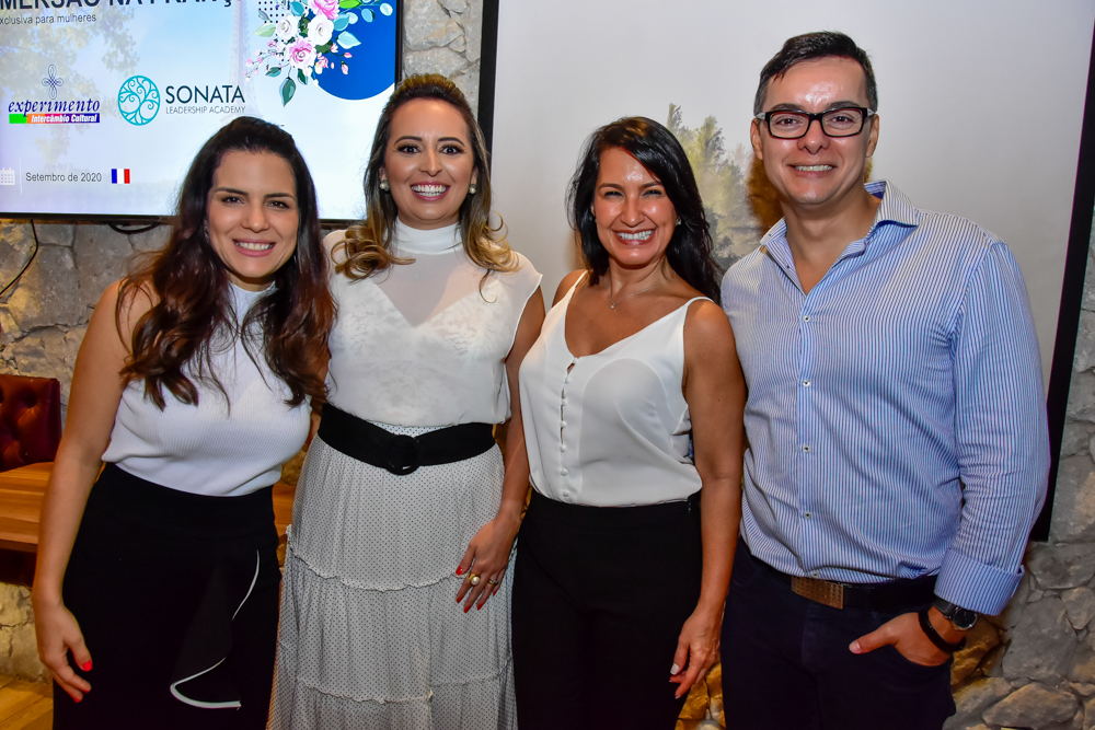 Natália Leite, Janaina Ximenes, Carla Gama E Wellington Oliveira