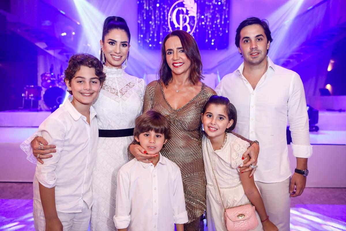 Nicole Pinheiro, Joaquim Cavalcante, Antonio, Carla, Liz E Netinho Baide