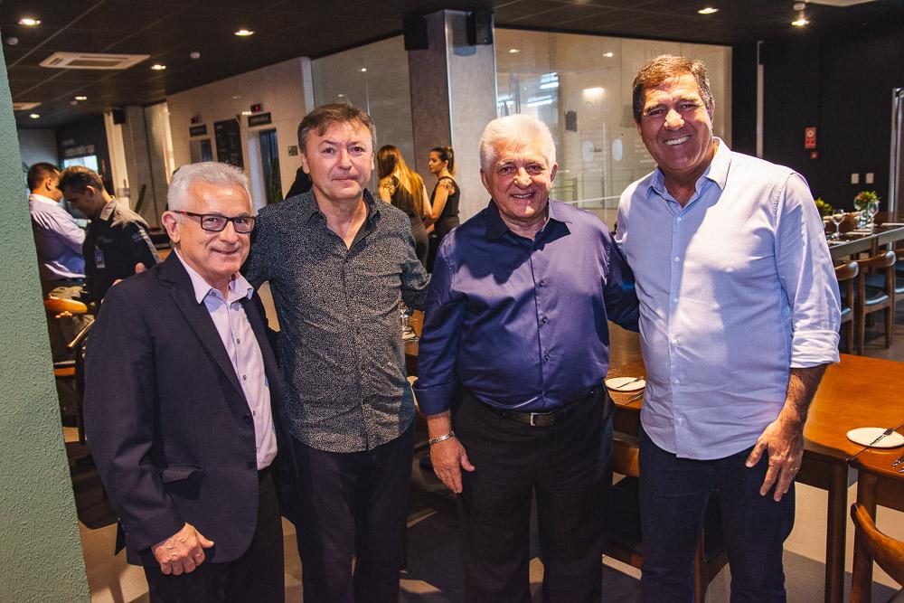 Obiranilson Alves, Mauricio Filizola, Deusmar Queiros E Luiz Gastao Bittencourt