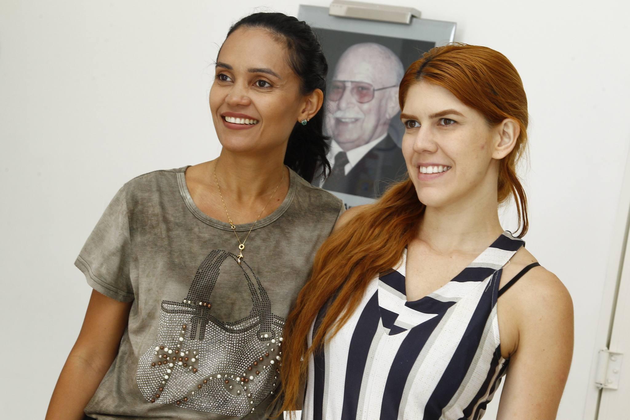 Patricia Gomes E Agnes Vera