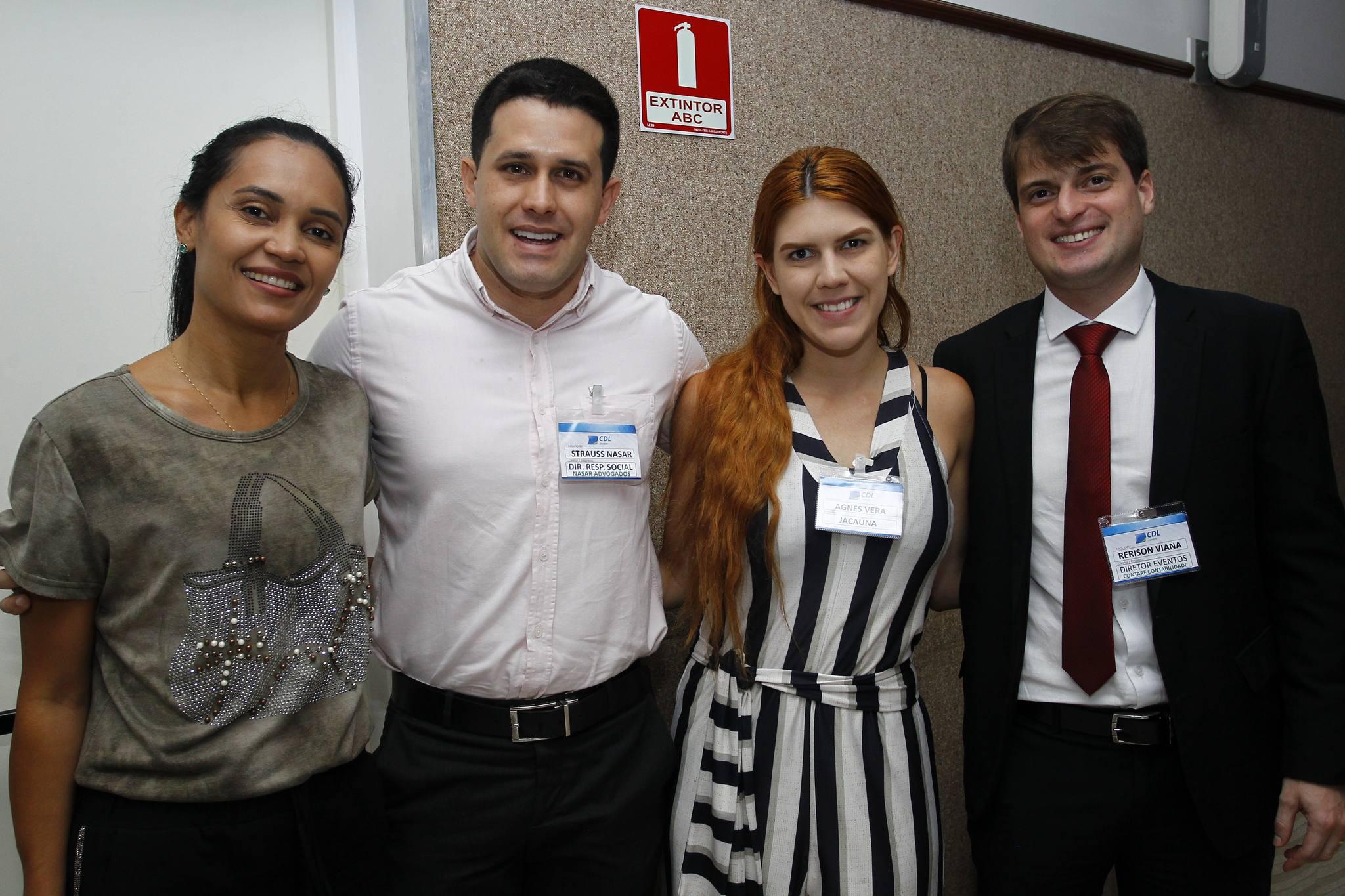 Patricia Gomes, Straus Nasar, Agnes Vera E Rerisson Viana
