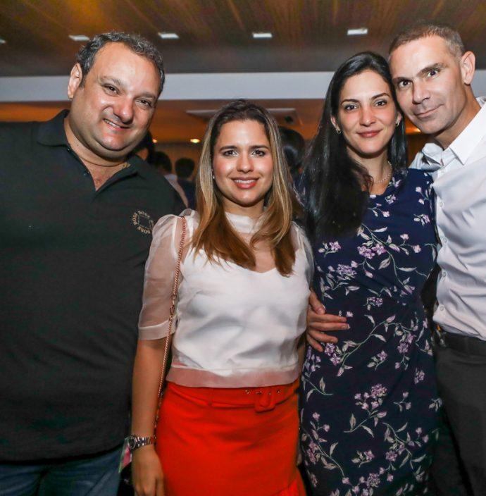 Patriolino E Renata Dias, Clarissa Sendra E Marcio Calux