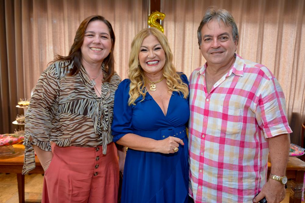 Paula Bardavil, Stela Salles E Walter Bardavil