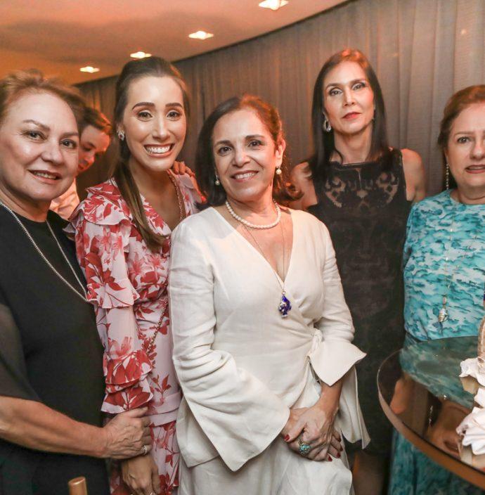 Paula Frota, Nadia Bismarck, Elusa Laprovitara, Glaucia Maia E Cristina Aragao