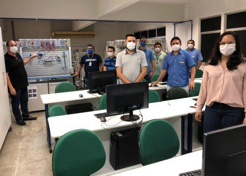 Senai Ceará desenvolve o protótipo de um respirador artificial em Maracanaú