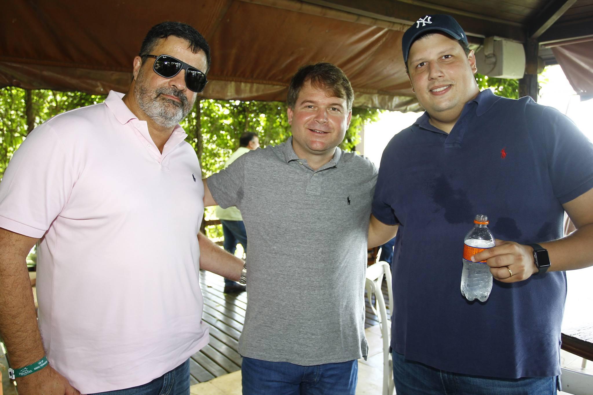Paulo Costa, Marcos Lima E Ralph Terra
