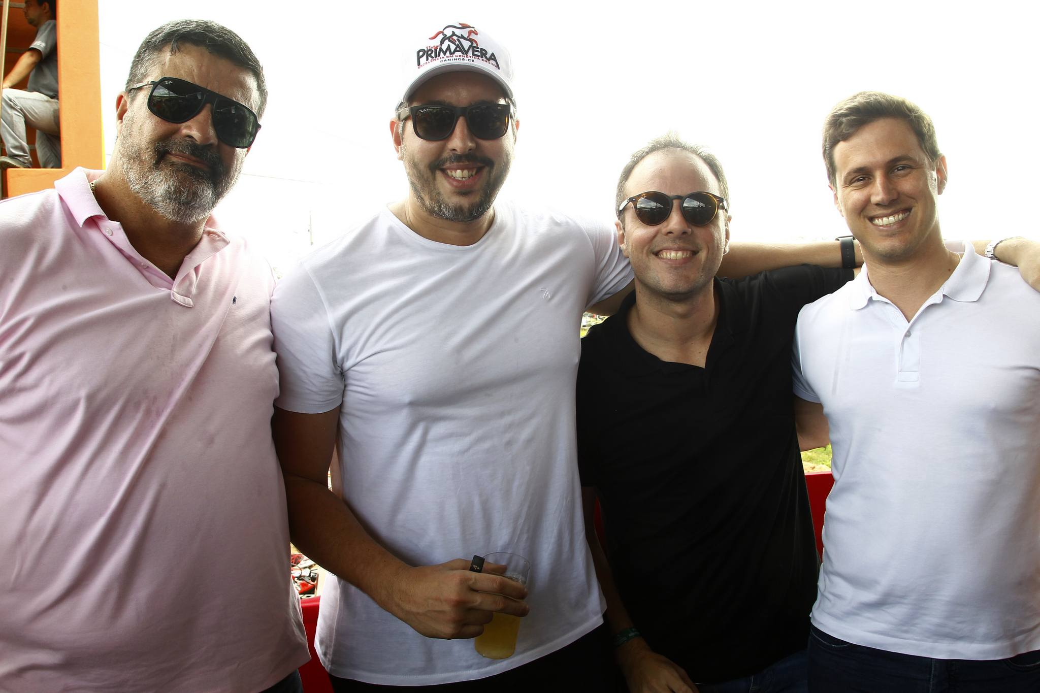 Paulo Costa, Tiago Leal, Daniel Aragao E Thiago Aguiar