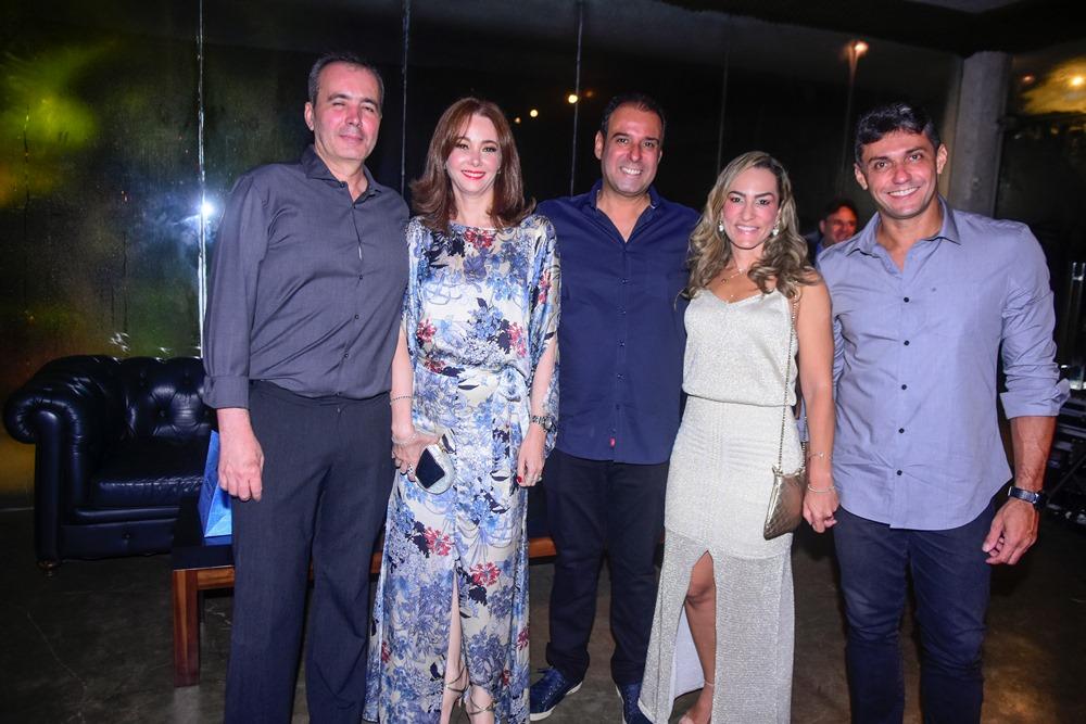 Paulo E Cláudia Gonçalves, Fábio Campos, Bianca Sales E Daniel Macambira