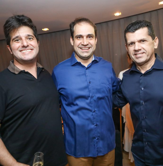 Pedro Gurjao, Salmito Filho E Erick Vasconcelos