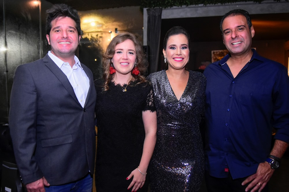 Pipo Gurjão E Isabella Rebolças, Cibele E Fábio Campos