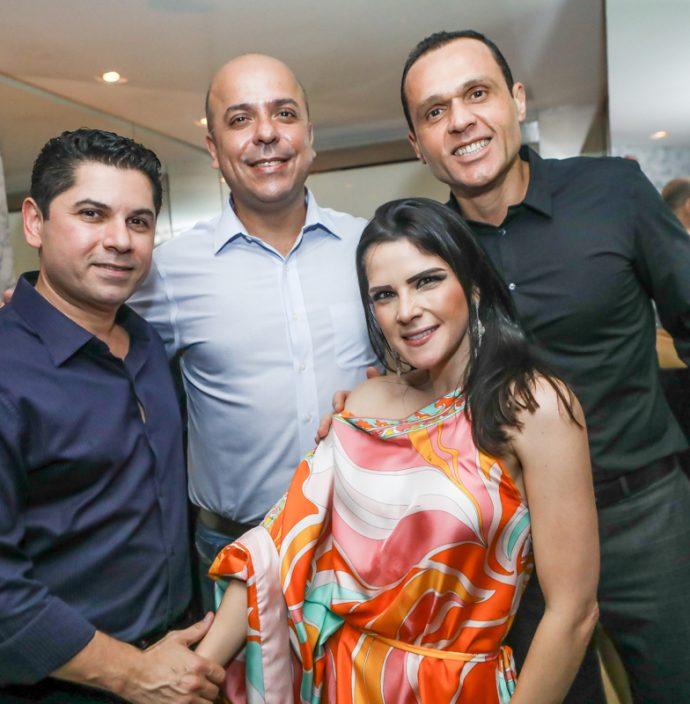 Pompeu Vasconcelos, Carlos Da Costa, Marilia Vasconcelos E Eduardo Diogo