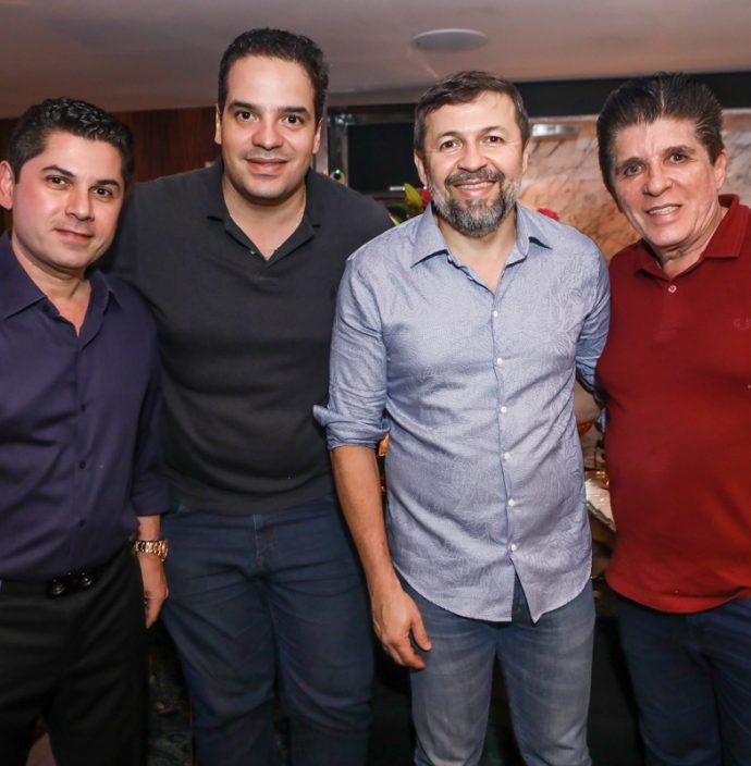 Pompeu Vasconcelos, Thiago Holanda, Elcio Batista E Dito Machado