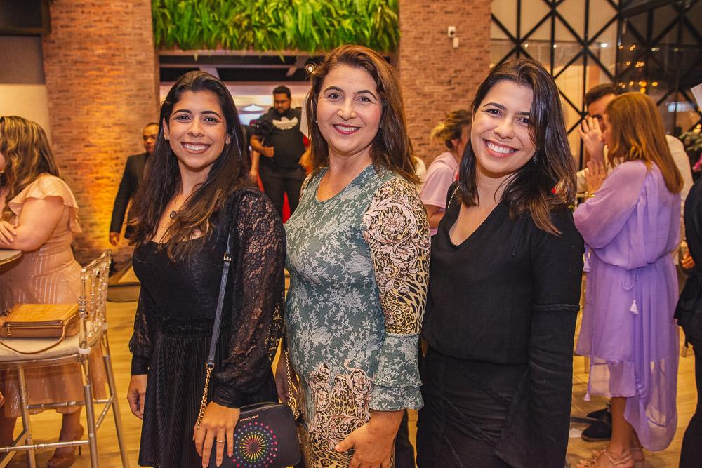 Priscila Adjafre, Lucineide Pinheiro E Alessandra Adjafre