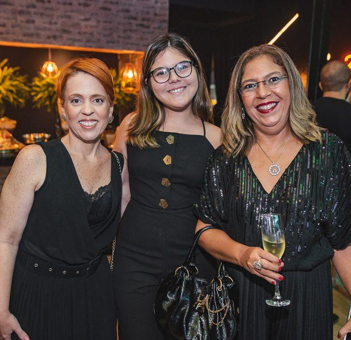 Rachel Mendonça, Clara Teixeira E Luciene Teixeira