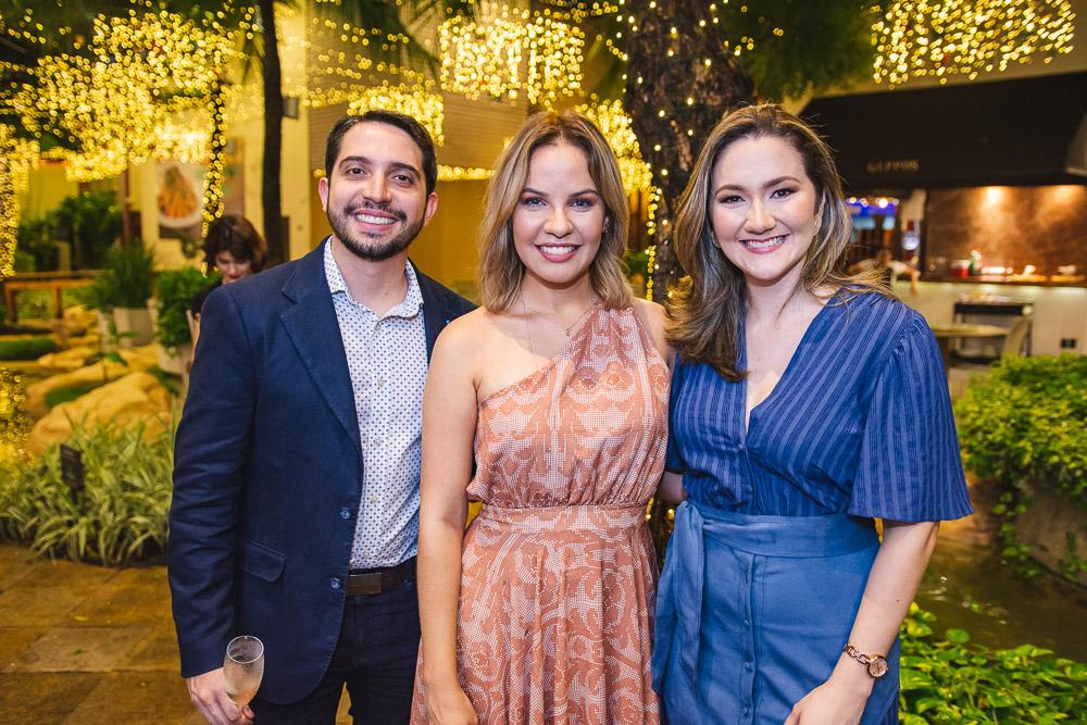 Rafael Holanda, Adriana Dias E Cinthia Braga