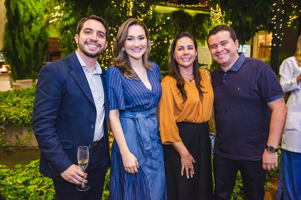 Rafael Holanda, Cinthia Braga, Isa Paiva E Milton Paiva