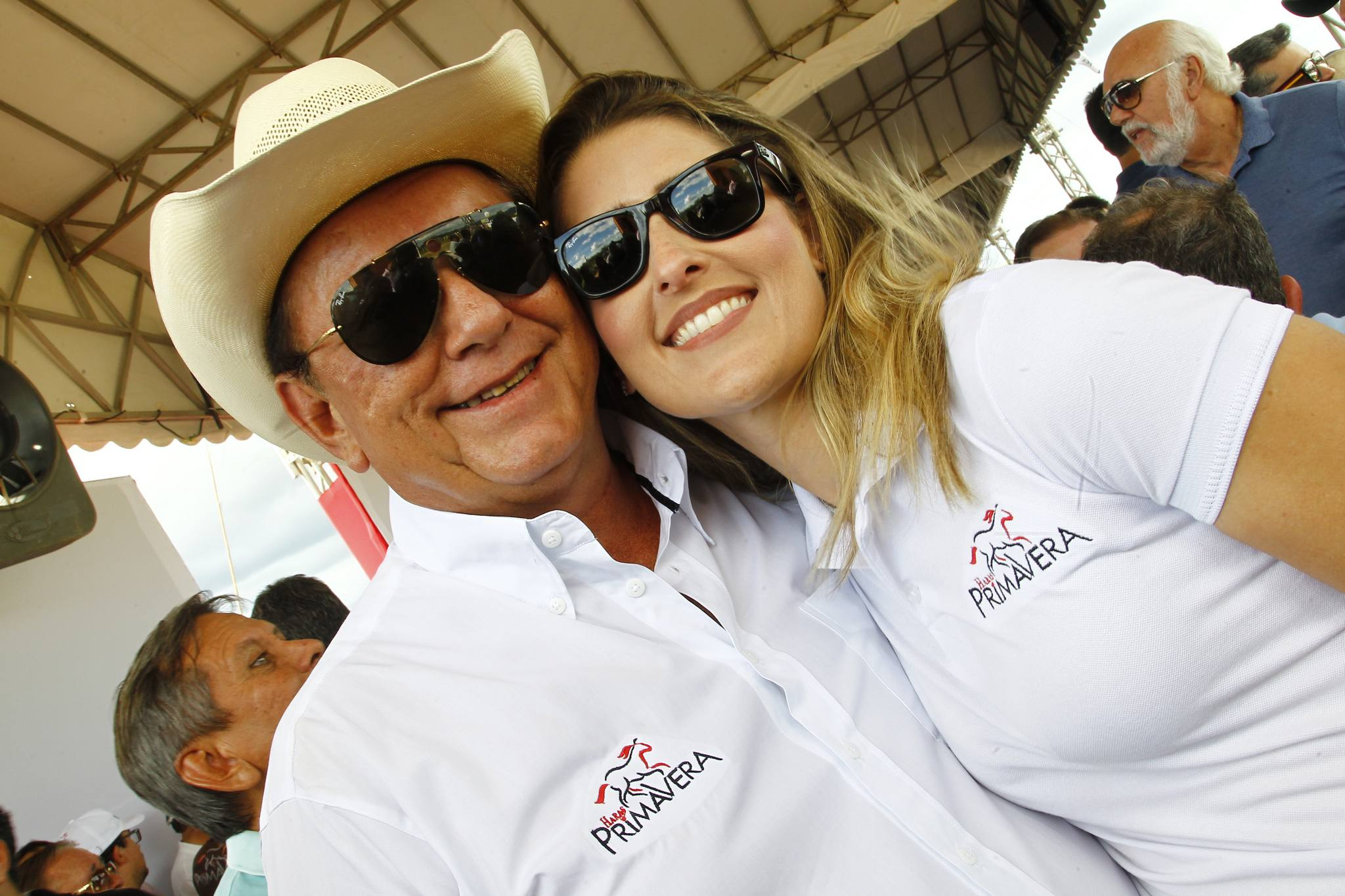 Rafael Leal E Rebeca Bastos