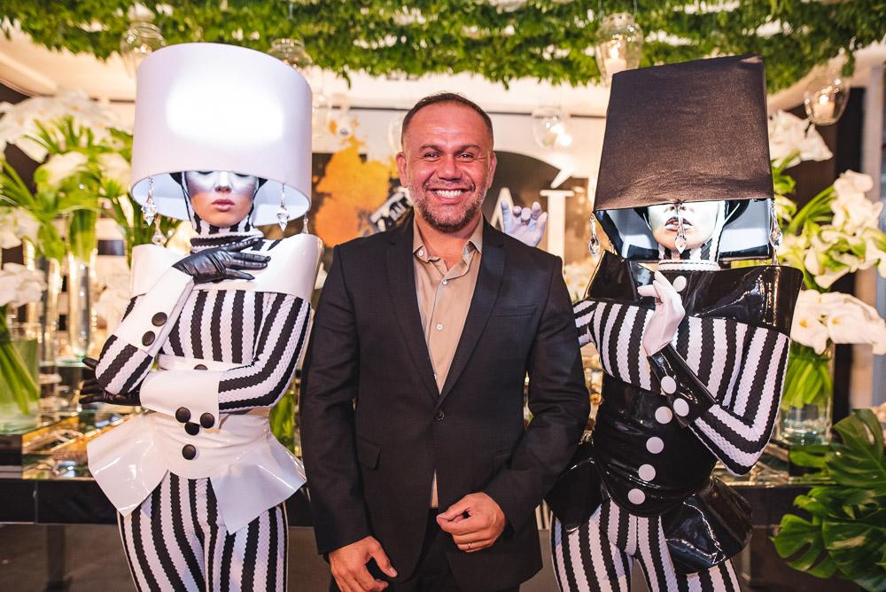 Rai Meirelles celebra a estreia nas quatro décadas com superfesta no Palatium Lounge