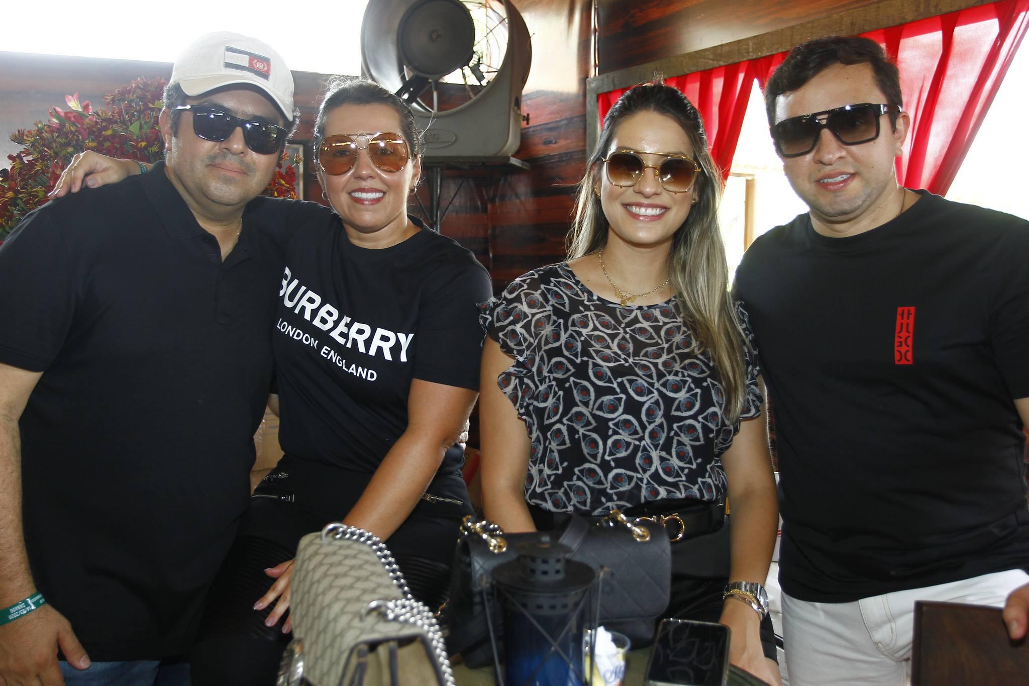Ranieri Mazille, Elis Moreira, Camila Morais E Jason Gomes