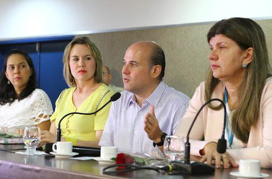 Roberto Cláudio apresenta o Observatório da Mulher na Capital