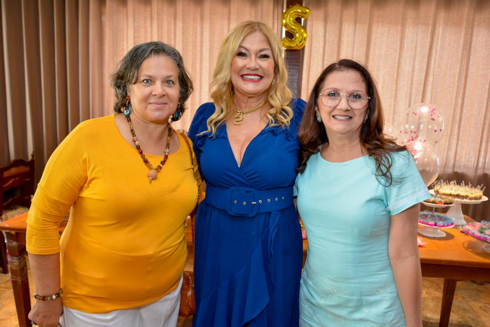 Rejane Ribeiro, Stela Salles E Cláudia Girão