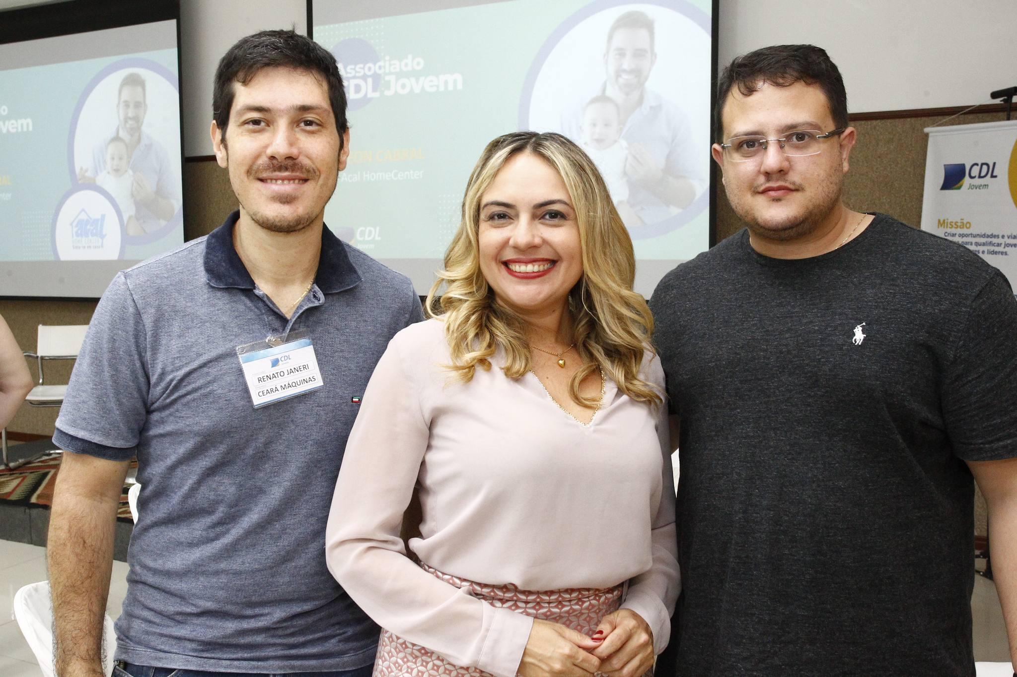 Renato Janeri, Monika Vieira E Marcus Saraiva