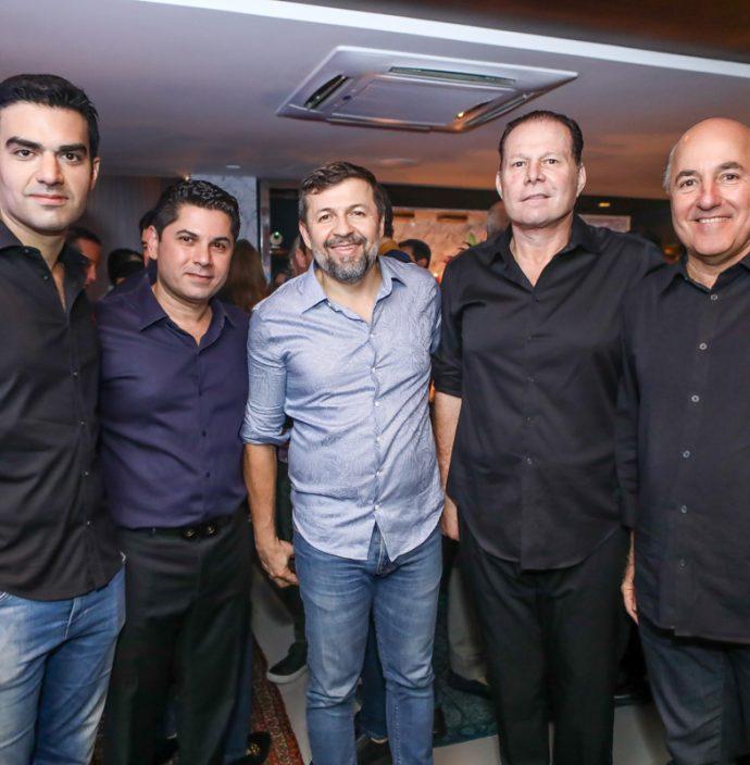 Rodrigo Nogueira, Pompeu Vasconcelos, Elcio Batista, Julio Ventura E Silvio Frota