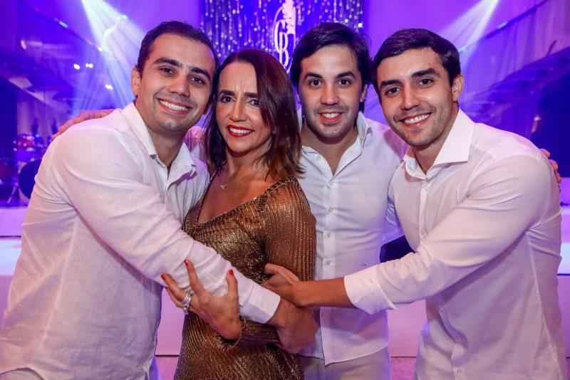 Salim, Carla, Netinho E Sayde Baide