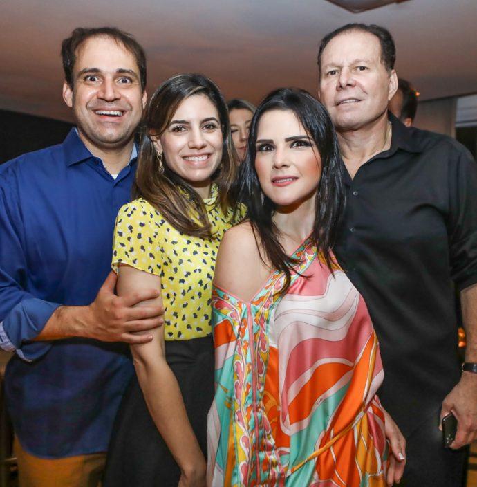 Salmito Filho E Jamile Salmito, Marilia Vasconcelos E Julio Ventura