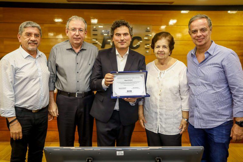 Sampaio Filho, Ricardo Cavalcante, Miguel Marques, Elisa Bezerra E Roberto Gardvol