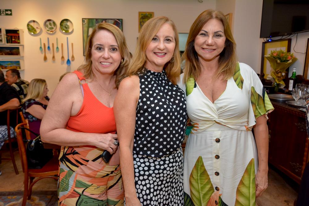 Sandra Arruda, Cily Praciano E Lucia Sampaio