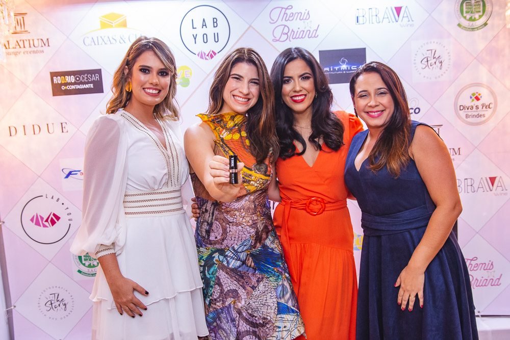 Sara Fontenele, Themis Briand, Thalita Herculano E Valesca Alves