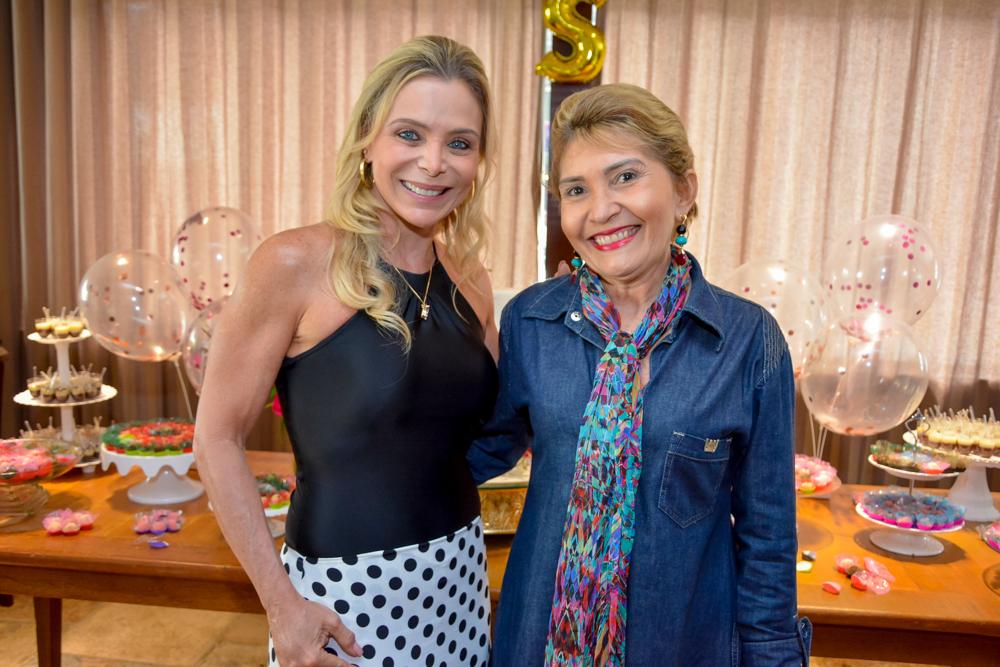 Tania Vieira E Salete Araujo