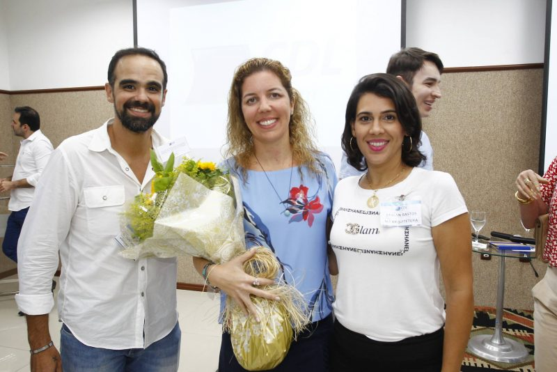 Tavinho Brigido, Ticiana Queiroz E Miriam Bastos