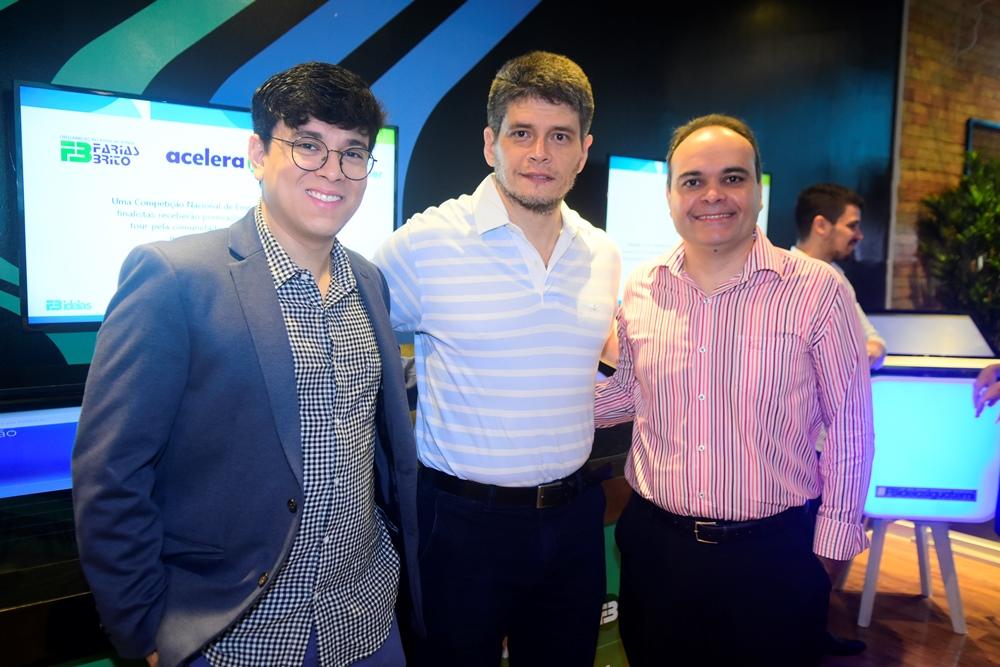 Taylor Aguiar, Fabricio Cavalcante E Guilherme Ellery