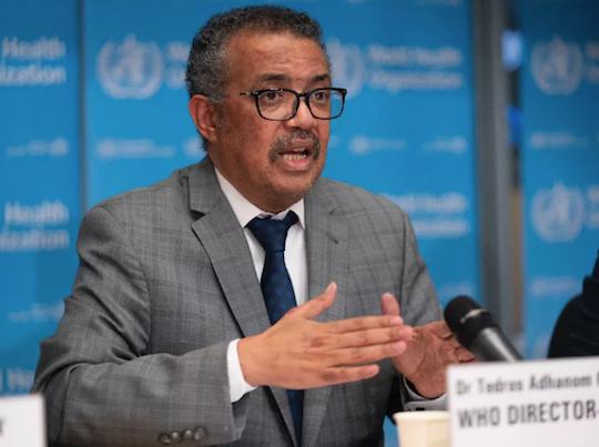 Diretoria da OMS declara pandemia do Covid-19 em todo o mundo