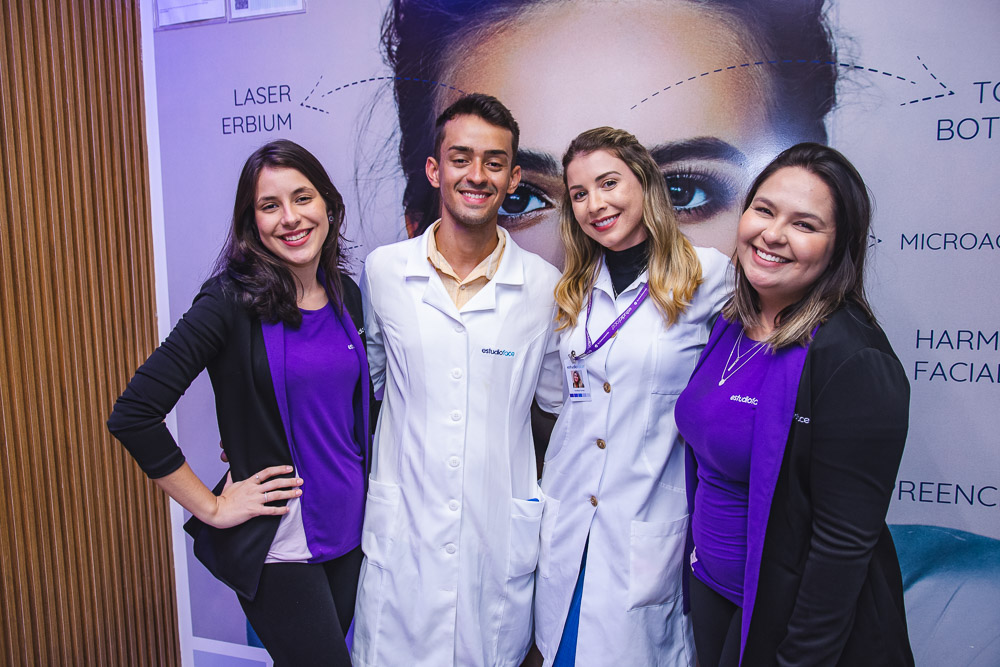 Thais Mata, Jonatan Sousa, Vanessa Farias E Jessica Luz