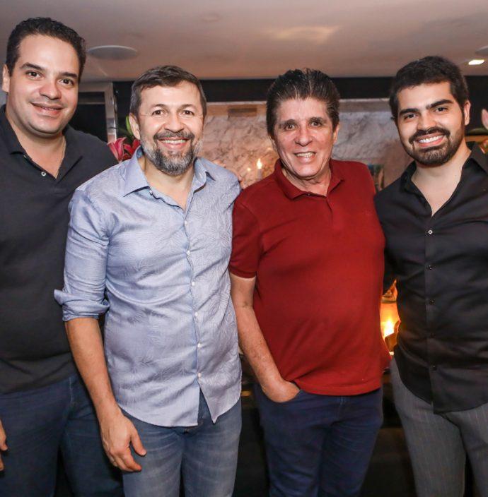 Thiago Holanda, Elcio Batista, Dito Machado E Pedro Garcia