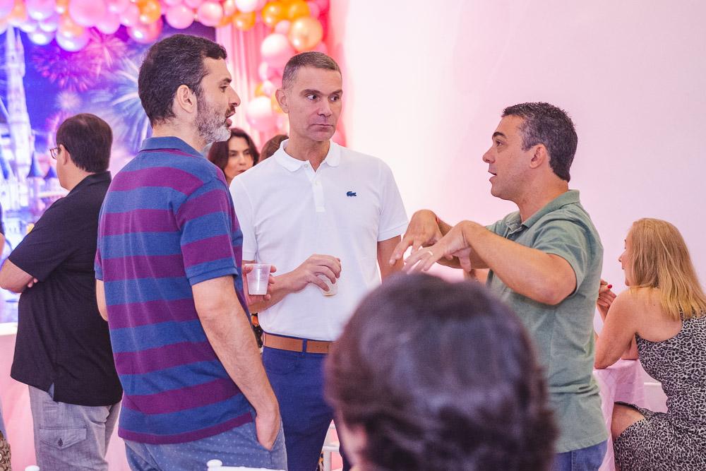 Thiago Mendes, Marcio Calux E Marcelo Serafim